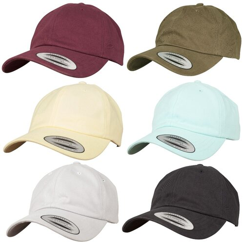 Yupoong Peached Cotton Twill Dad Cap