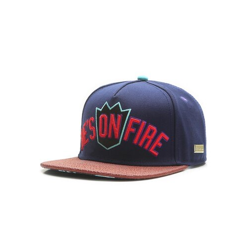 Hands of Gold On Fire Cap navy/mc one size
