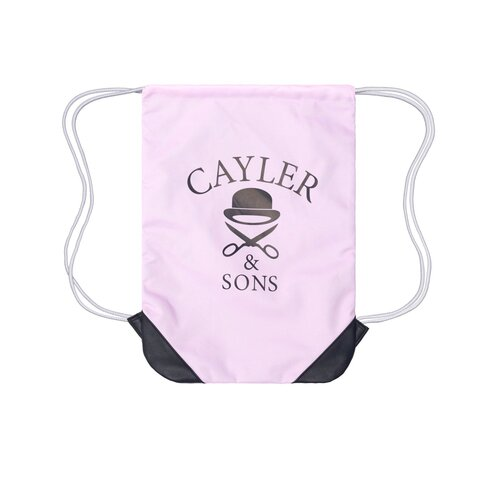 Cayler & Sons C&S WLTrust Gymbag pale pink/black