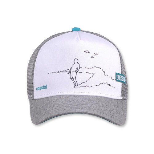 Coastal HFT Cap Rider White/Grey