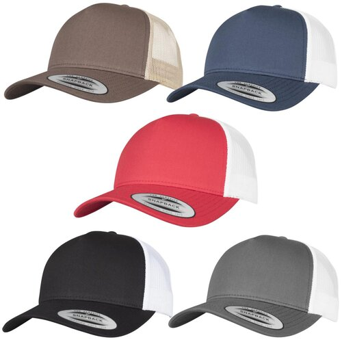 Yupoong 5-Panel Retro Trucker 2-Tone Cap
