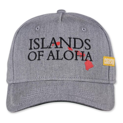 Coastal HFT Full Cap ISLAND grey