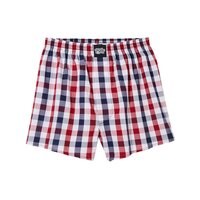 Lousy Livin Boxershorts Lousy Check   Squared Red L