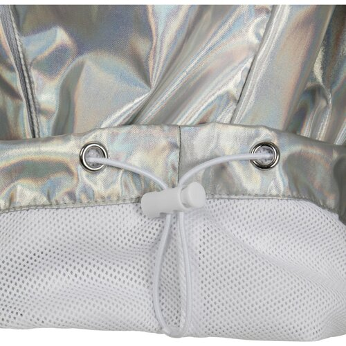 Urban Classics Ladies Holographic Pull Over Jacket