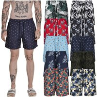 Urban Classics Pattern Swim Shorts
