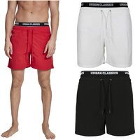 Urban Classics Two in One Swim Shorts