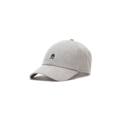Cayler & Sons C&S PA Small Icon Curved Cap grey heather/black