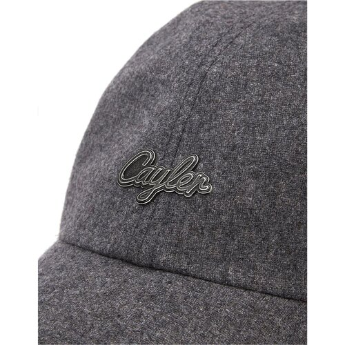 Cayler & Sons C&S CL Pinned Curved Cap heather grey/silver
