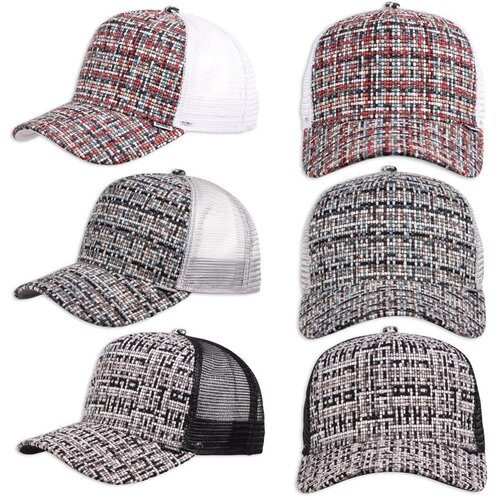Djinns HFT Cap Bubble Tweed
