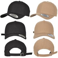 Yupoong 6-Panel Curved Metal Snap
