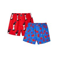Lousy Livin Boxershorts Apple Melon 2 Pack Red/Royal M