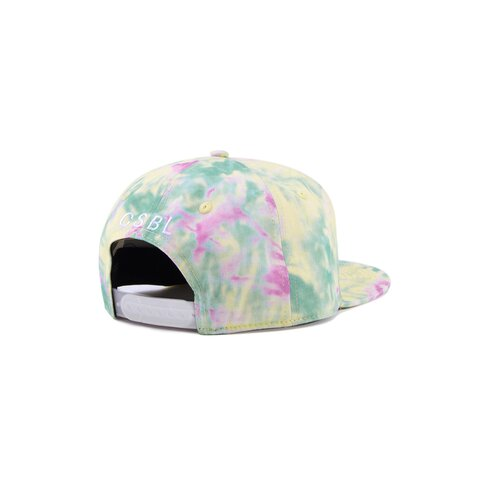 Cayler & Sons CSBL Meaning Of Life Tie Dye Snapback yellow/pale pink one size