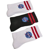 Mister Tee NASA Insignia Socks 3-Pack white/black/white...
