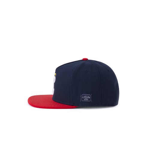 Cayler & Sons C&S WL Halo Cap navy/red one