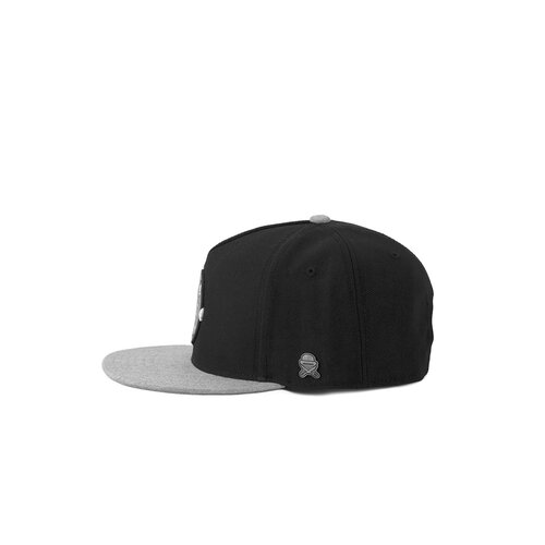 Cayler & Sons C&S CL Native Shield Cap black/heather grey one