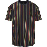 Urban Classics Printed Oversized Retro Stripe Tee...