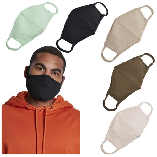 Build your Brand Cotton Face Mask 2-Pack