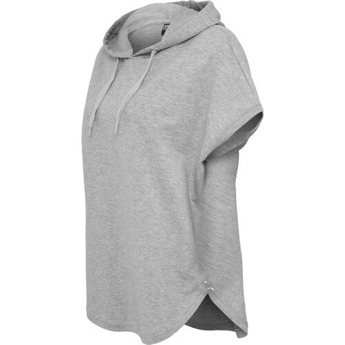 Urban Classics Ladies Sleeveless Terry Hoody grey