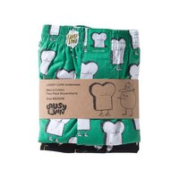 Lousy Livin Boxershorts 2 Pack Toast & Zitrone Black/Green